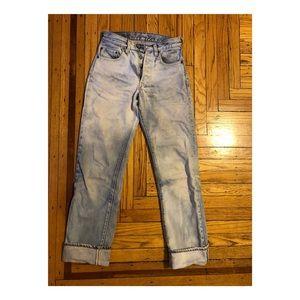 Vintage Bleached 501 Levi's